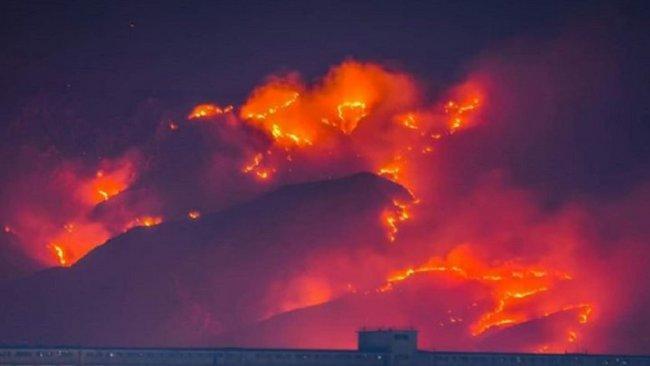 Mahmur'da Kürtlerin tarım arazileri yakıldı