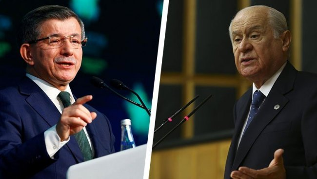 Davutoğlu, Devlet Bahçeli'ye resti çekti: Buyrun, hodri meydan!