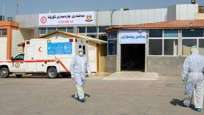Erbil'de sadece 3 Covid-19 hastası kaldı