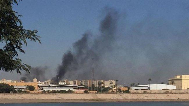 Bağdat'ta ABD bölgesine füzeli saldırı!