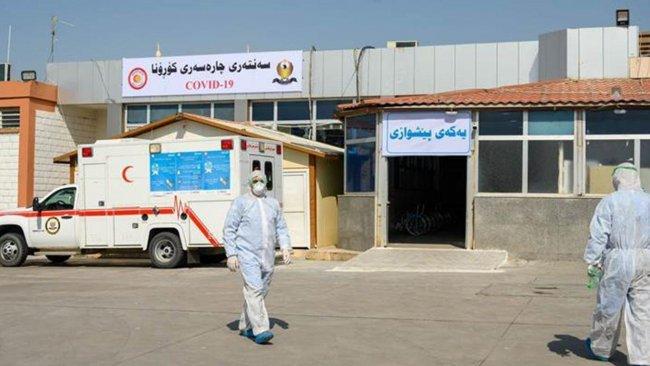 Kürdistan Bölgesi'nde 10 yeni koronavirüs vakası tespit edildi