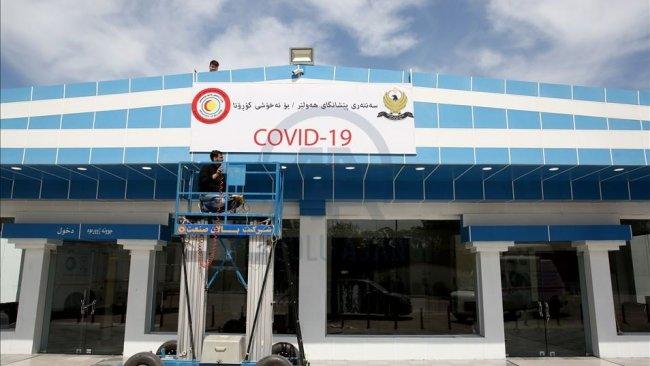 Erbil'de 7 koronavirüs vakası daha tespit edildi
