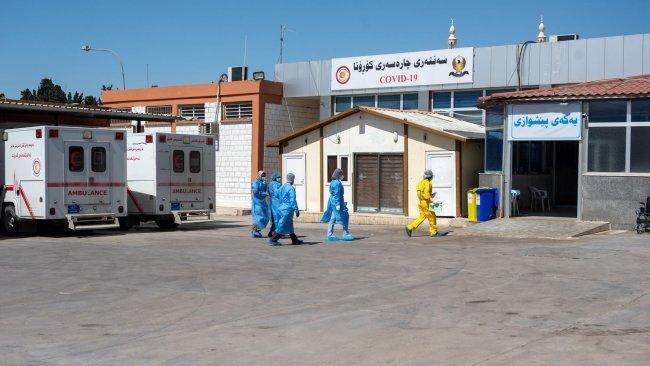 Kürdistan Bölgesi'nde 10 yeni virüs vakası
