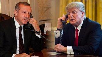 Erdoğan ile Trump, Libya ve Suriye'yi görüştü