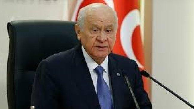 Bahçeli'den 'reform' ve 'kanun değişikliği' açıklaması