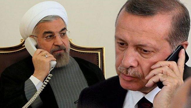 İran: Erdoğan ile Ruhani sınırları açmayı konuştu