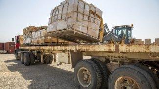 Uluslararası Koalisyon'dan Peşmerge Güçleri'ne askeri mühimmat desteği