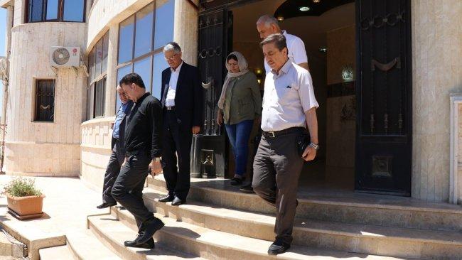 ENKS'ten Kürdistan Bölgesi'ne ziyaret