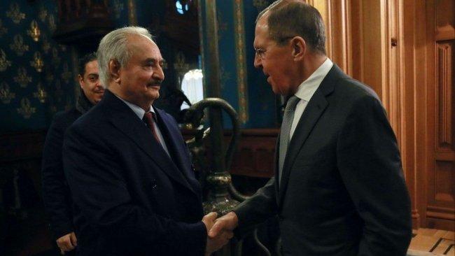 Lavrov'dan Hafter'e: Ateşkese uyun