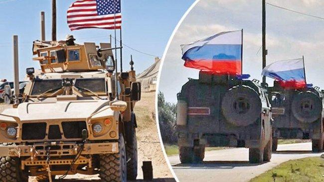 ABD ve Rus askerlerinden Rojava'da bir ilk