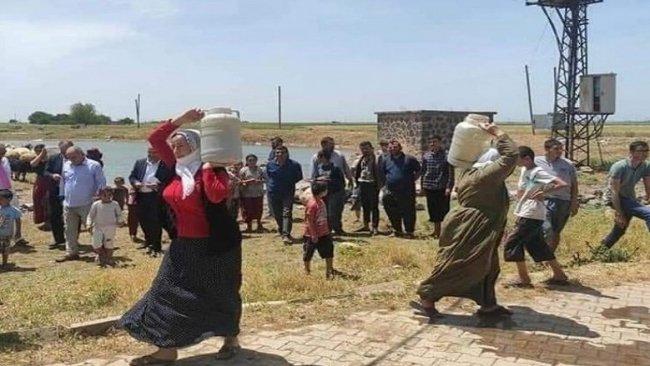 Mardin'de elektrik ile suyu kesilen köy ve beldelerde salgın endişesi