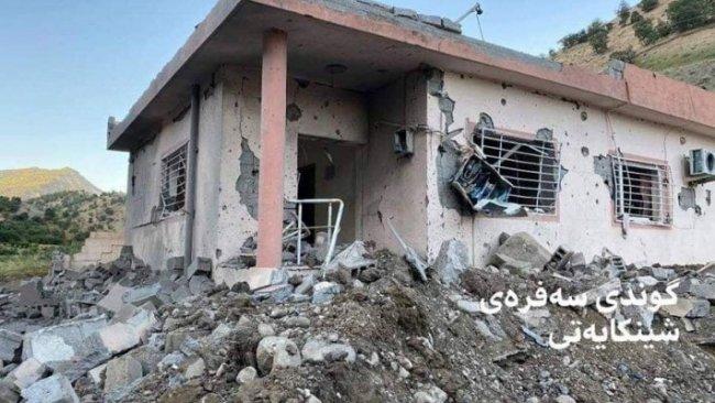 TSK'nın bombardımanında 5 gerilla yaşamını yitirdi