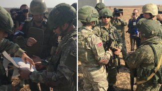 İdlib'deki Rus-Türk devriyelerinde bir ilk