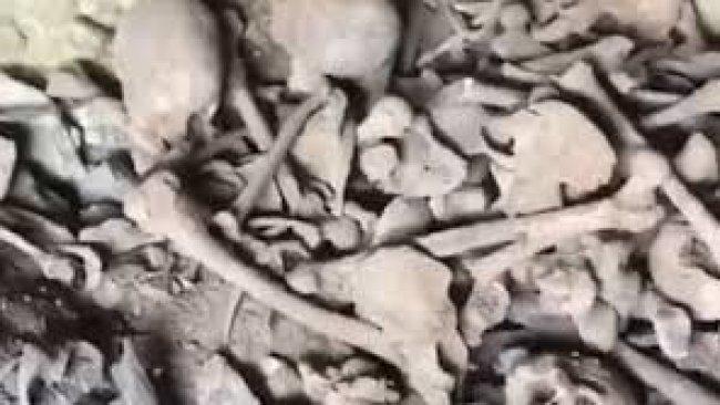 Mardin: Dargeçit'te toplu mezar bulundu