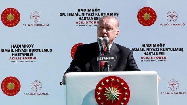 Erdoğan: Fethi işgal olarak tanımlamaya çalışıyorlar