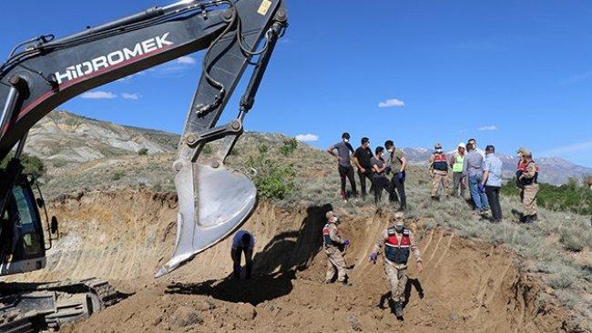 Erzincan'da inşaat kazısında insan kemikleri bulundu