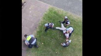 Almanya'da Dersimli aileye polis şiddeti tepkiye yol açtı