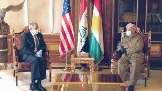 Başkan Barzani ABD Büyükelçisi'yle görüştü