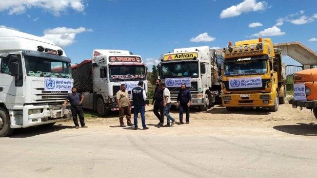 DSÖ'den Rojava'ya 20 tonluk tıbbi malzeme yardımı