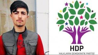 HDP'den 'Barış Çakan' açıklaması
