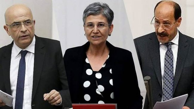 2 HDP'li ve 1 CHP'li vekilin milletvekillikleri düşürüldü