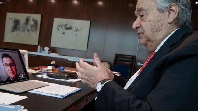 BM Genel Sekreteri'nden Kürt doktora övgü dolu sözler