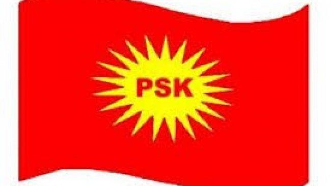 PSK: Rejim Halkın İradesini Yok Saymaya Devam Ediyor