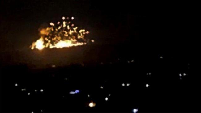 İsrail, 'İran'a ait füze fabrikasını' bombaladı