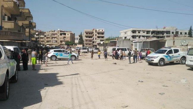 Kamışlo'da bombalı intihar saldırısı!