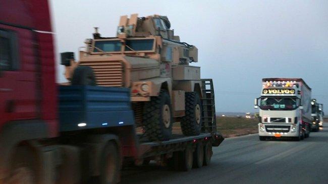 ABD, Rojava'ya 50 araçlık askeri sevkiyat