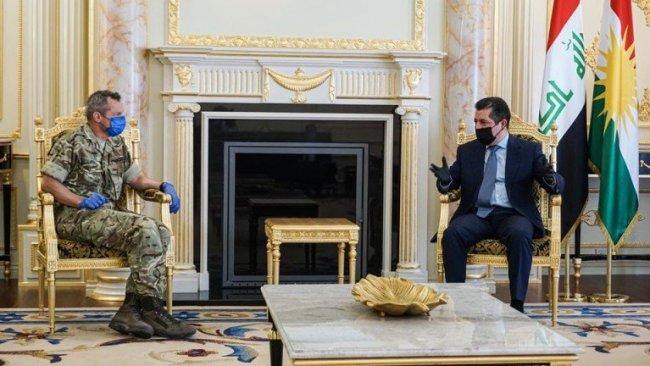 Başbakan Barzani, IŞİD Karşıtı Koalisyon heyeti ile görüştü