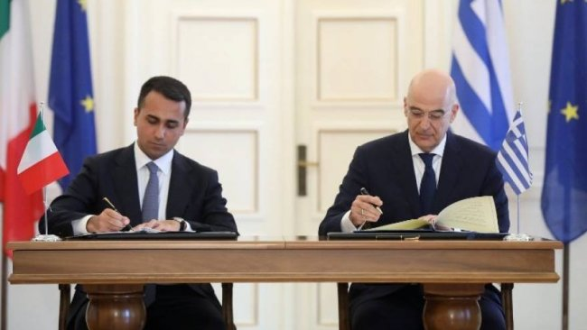 Yunanistan ile İtalya'dan Akdeniz'de kritik anlaşma
