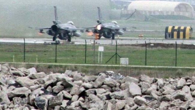 Diyarbakır'da savaş uçağı hareketliliği