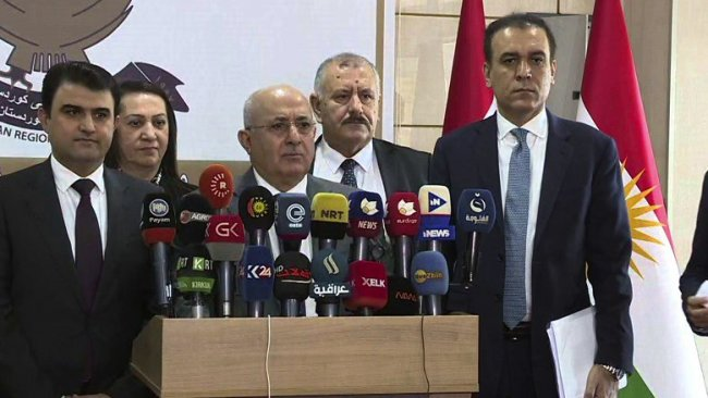 Erbil: Kısa bir süre içerisinde Bağdat'la anlaşmaya varacağız