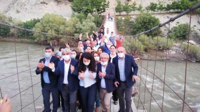 HDP'nin 'Demokrasi Yürüyüşü başlıyor...Hakkari'den ilk tepkiler!