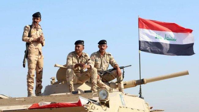 Irak Ordusu'na ait askeri konvoyun geçişi sırasında patlama
