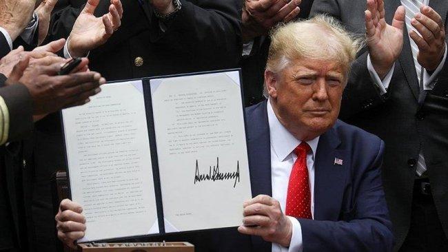 ABD Başkanı Trump polis reformu kararnamesini imzaladı