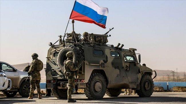 Rojava'da Rus askeri konvoyu protesto edildi