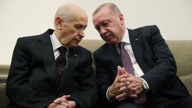 Erdoğan ve Bahçeli görüşmesinde sekiz kritik başlık...Yeni sürecin yol haritası mı?
