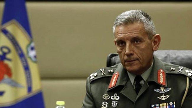 Yunanistan Genelkurmay Başkanı Floros'tan Türkiye'ye tehdit