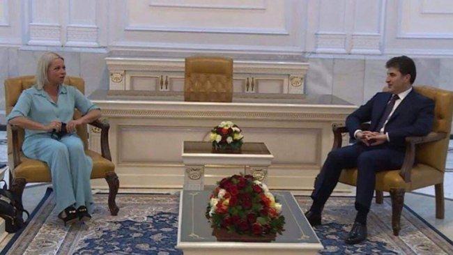 Başkan Neçirvan Barzani, BM Irak Özel Temsilcisi'yle görüştü