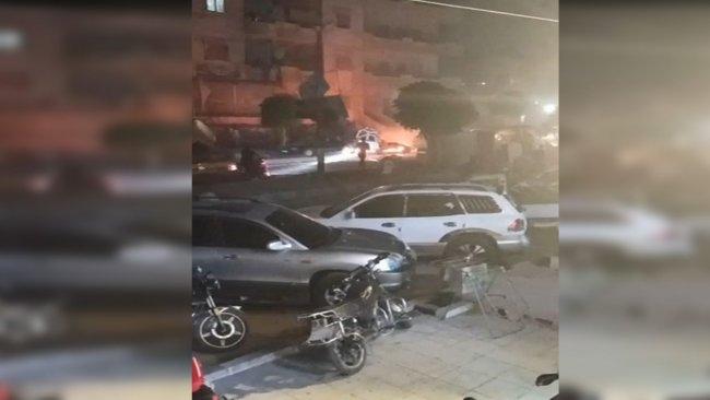 Efrin'de patlama: Yaralılar var