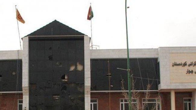 Süleymaniye'de KDP binasına silahlı saldırı