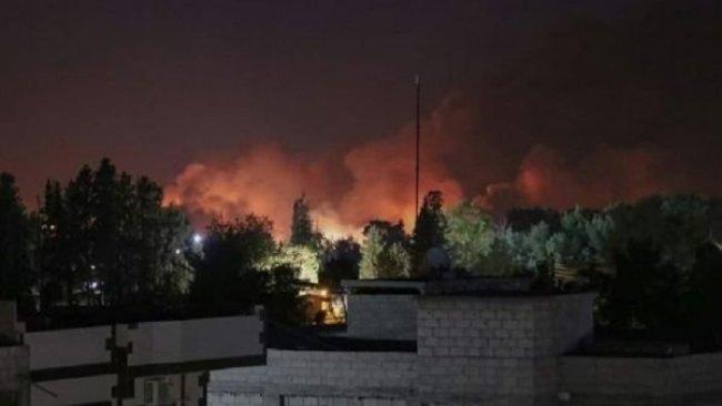 Haseke'de DSG'ye ait silah deposunda patlama