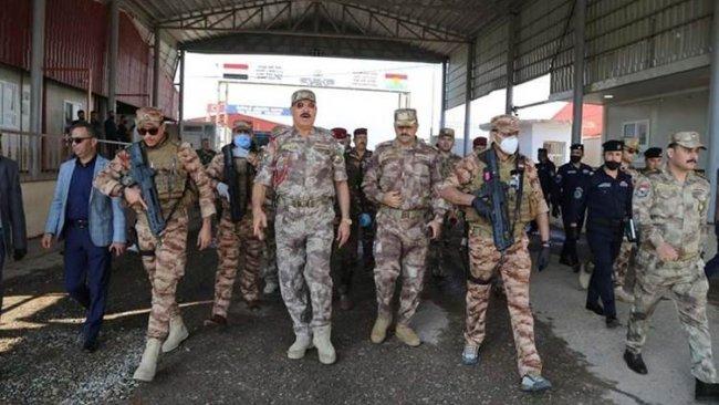Üst düzey Irak askeri heyeti Duhok'ta: 'Türkiye'nin başlattığı operasyonlar hakkında...'