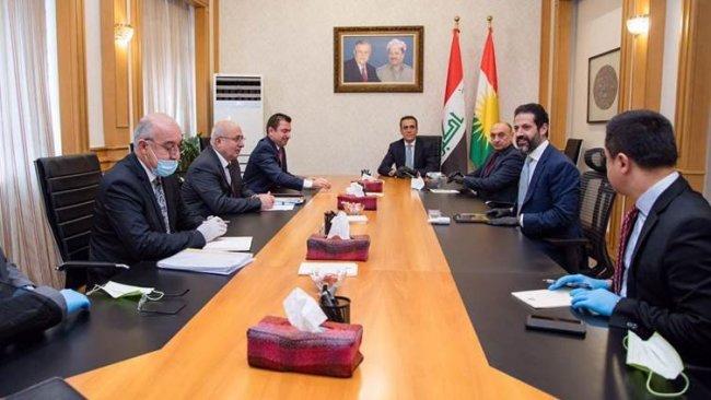 Kürdistan Bölgesi heyeti Bağdat'ta