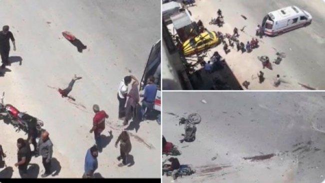 Efrin'de patlama: Ölü ve yaralılar var!