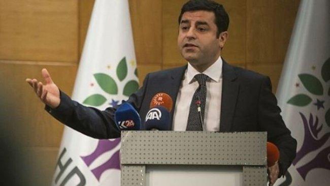 Selahattin Demirtaş'tan Adalet Bakanı'na: İlk defa bir siyasetçiden ricada bulunuyorum