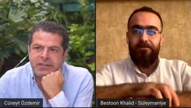 Cüneyt Özdemir, Kürdistanlı gazeteciyle yaptığı söyleşiyi kaldırdı