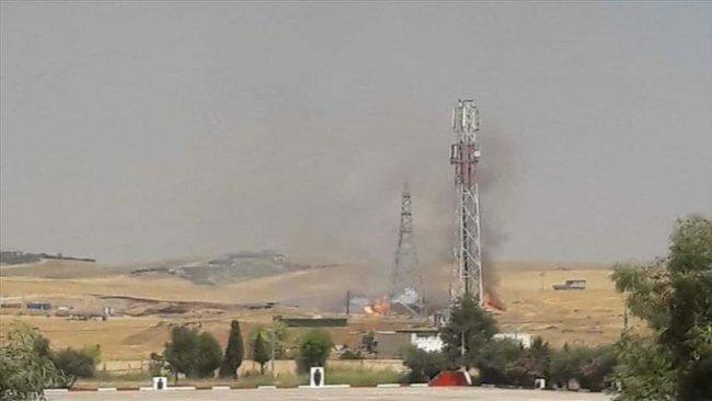 Erbil'de Peşmerge'ye ait mühimmat deposunda patlama